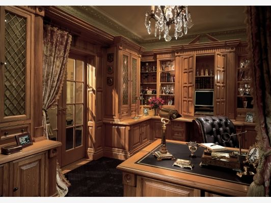 Luxury Home Office Design - Home and Garden Design Ideas