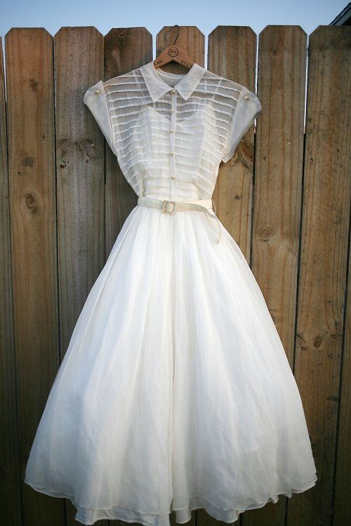 Vintage 40's - 50's Wedding or Party Dress