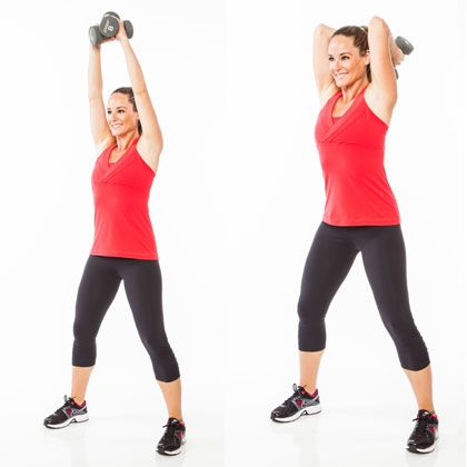 Repin if you're looking for a few effective arm moves. The triceps chop is one of them.