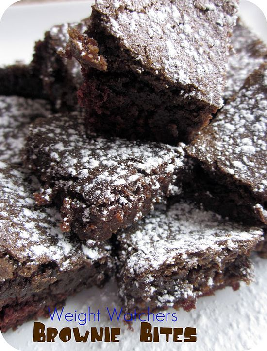 Weight Watchers Brownie Bites Recipe