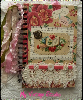 Altered Journal  By: My Vintage Studio