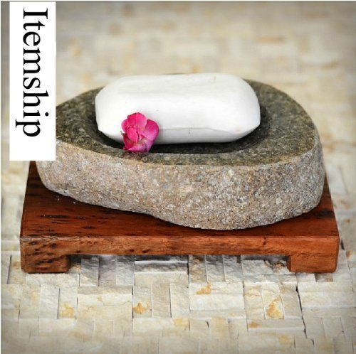 Itemship The Neolithic Age - pebbles soap box - soap box - creative products - soap dish creative handmade soap box by Itemship, www.amazon.ca/...