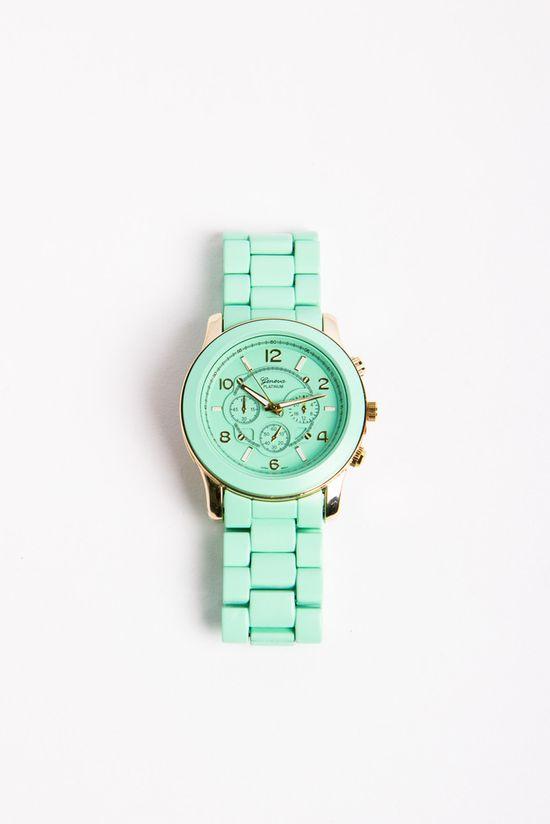 mint green...