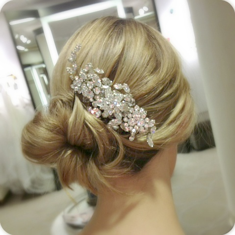 Hair bling! Add some sparkle to your style.
