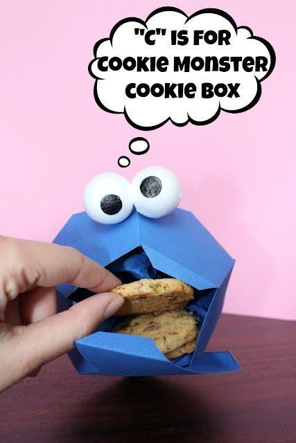 קופסת עוגיות בצורת עוגיפלצת