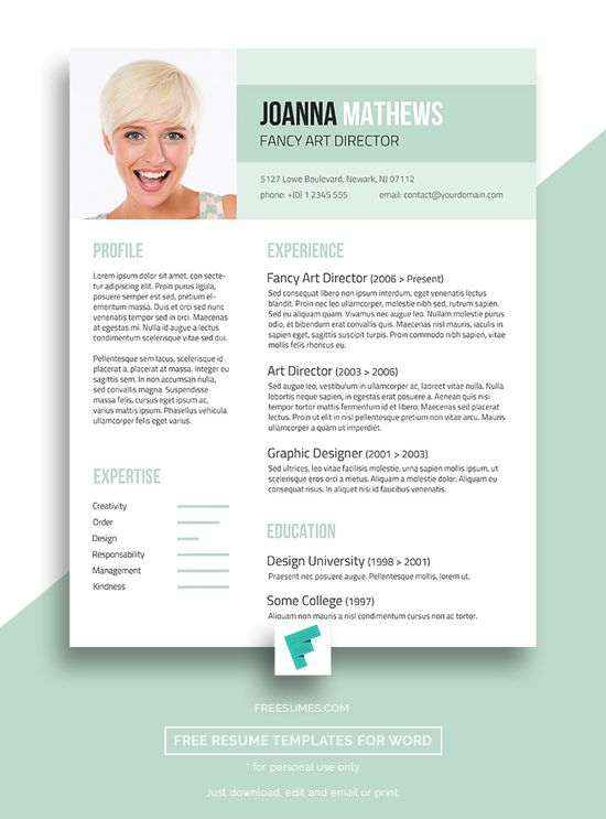 Freesumes (freesumes) On Pinterest   Fancy Resume Templates  Fancy Resume Templates