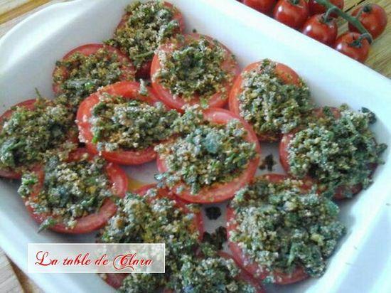 Tomates à la provenç