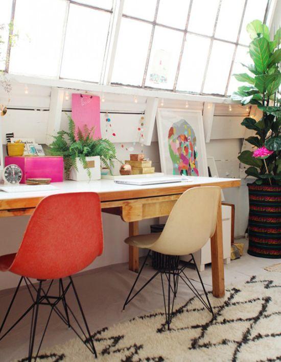 Bri Emery's office #decor