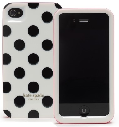 iPhone 4 Hardcover by Kate Spade #iPhone_Cover #Kate_Spade