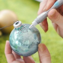 Give old ornaments a new look