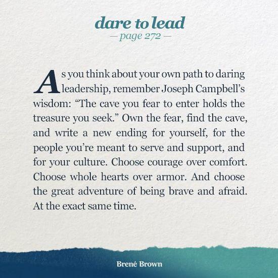 Brené Brown, Dare to Lead | Joseph Campbell