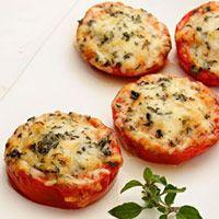 Parmesan Baked Tomatoes, yum!