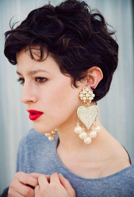 Karlas Closet,  Curly Crop #short #hair