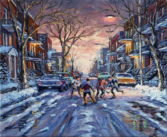 Vacances d'hiver de Marcel Ravary