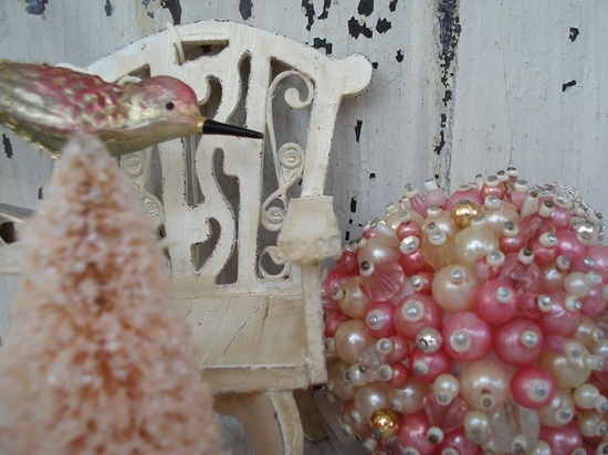 vintage pink christmas by suzanneduda@flickr