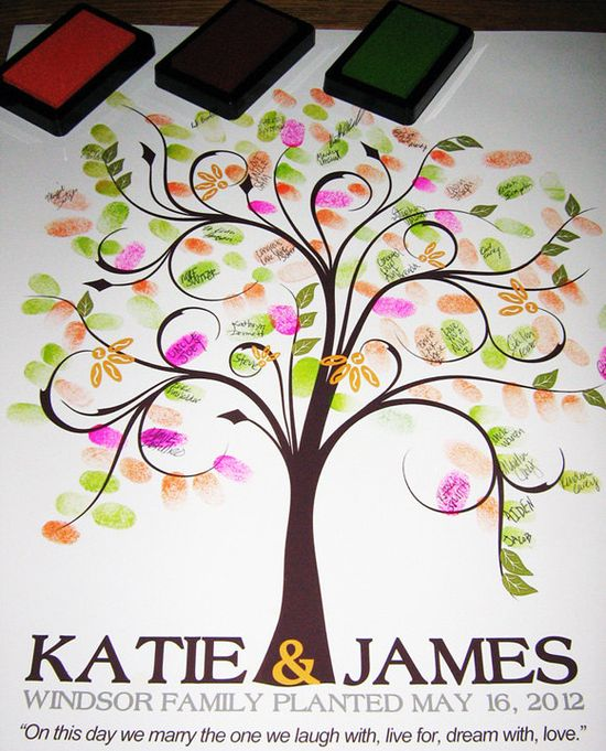 WEDDING GUESTBOOK TREE,
