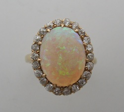 Antique opal ring.