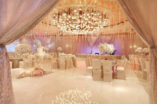 A Fantasy Wedding Reception