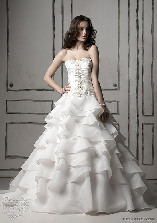 Justin Alexander Spring 2012 bridal collection