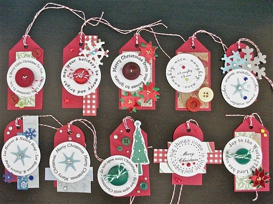 easy DIY gift tags