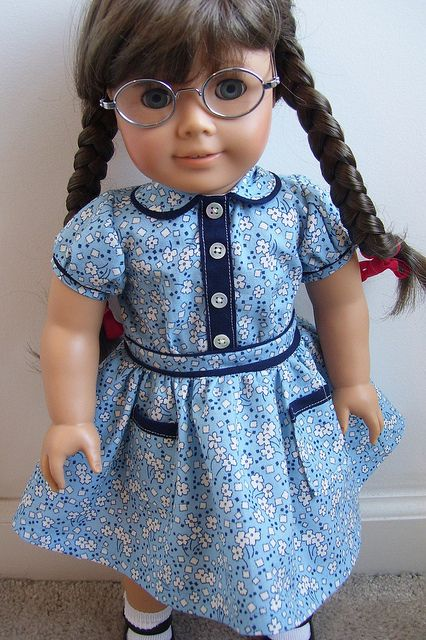 American Girl Doll Dress For Molly