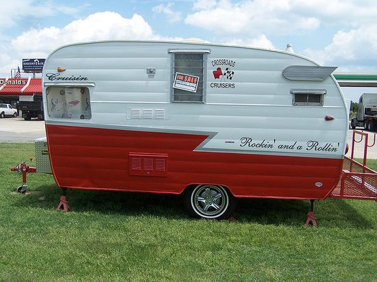 DH and I want a vintage travel trailer!
