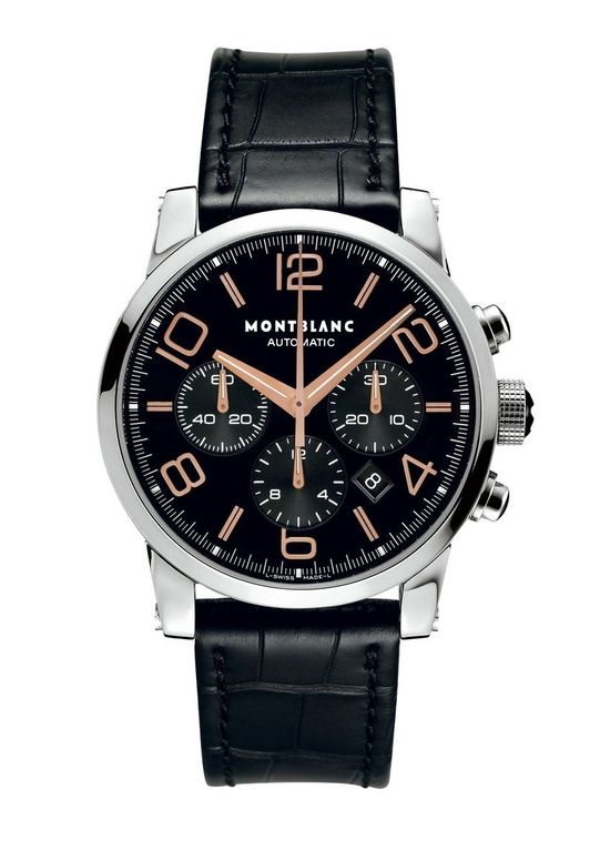 Montblanc Timewalker Black Mens Watch 101548