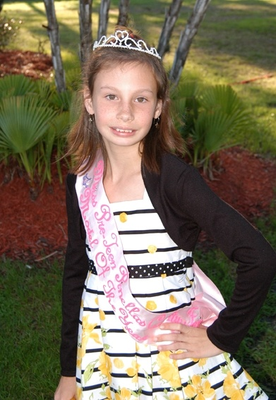 Pre-teen Pinellas County Fair sponsored by Tampa Models and Talent