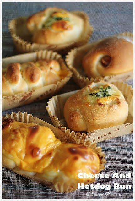 Assorted Handmade Bread and buns Using Tangzhong