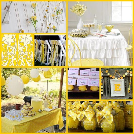 Yellowful Party Inspiration