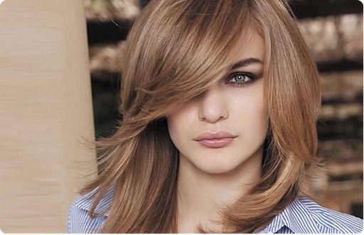 Cool Straight Hair Styles: Blonde On Brown Hair