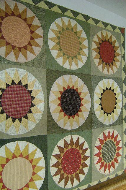 Wonderful Sunflower Quilt
