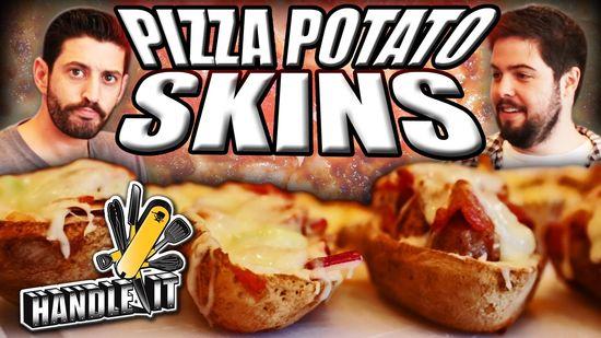 Epic Meal Time: Pizza Potato Skins
