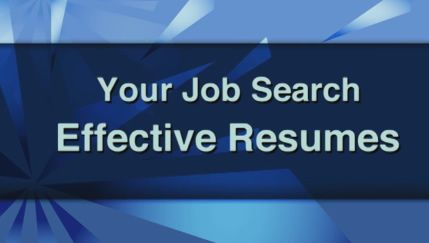 U.S. Department of Labor -- ODEP - Office of Disability Employment Policy - Workforce Recruitment Program - Videos - RESUMES