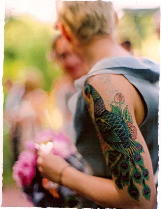 my sister's tattoo, shot by photographer Bret Cole