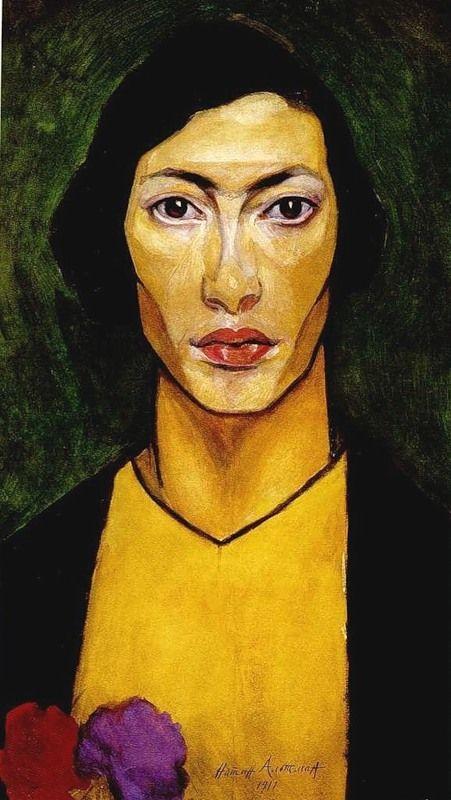 Natan Altman - self portrait, 1911