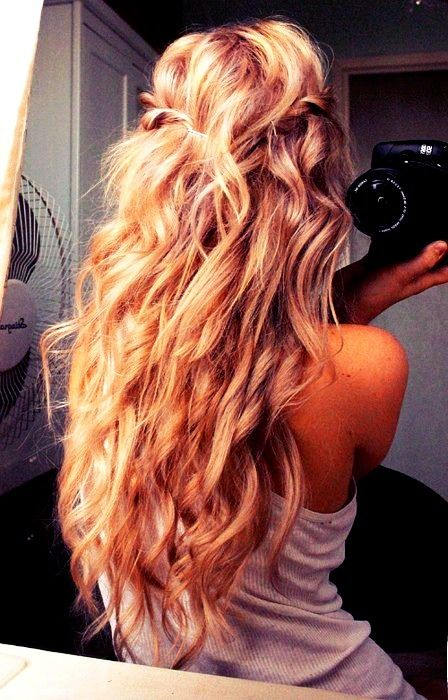 why can't my hair ever look like this?