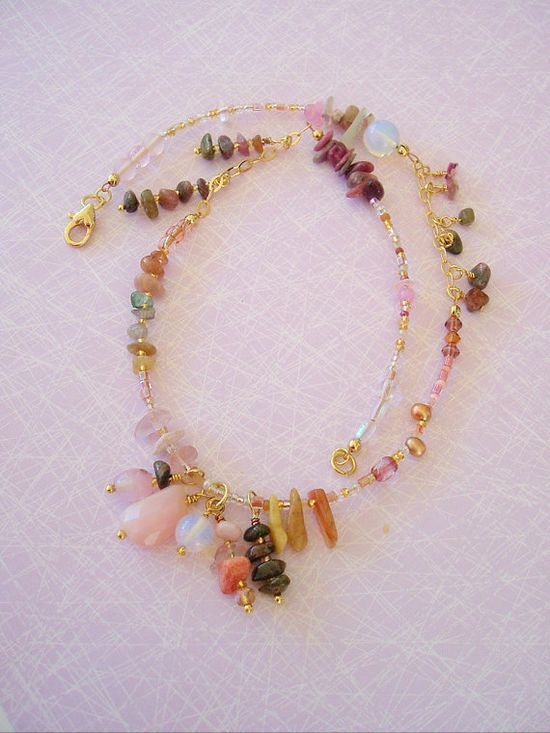 Boho Necklace Bohemian Jewelry Sundance Artisan by BohoStyleMe