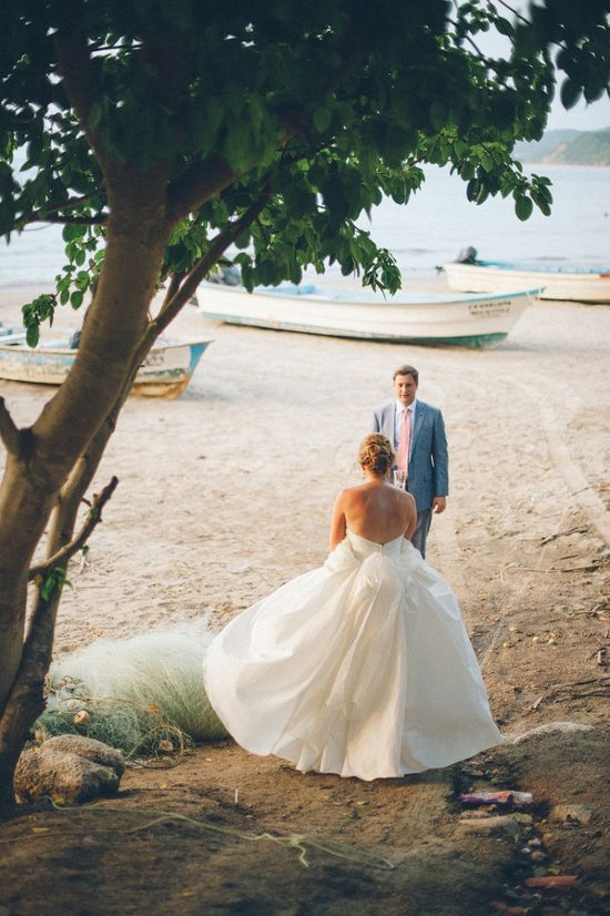 first look on the beach... how beautiful!