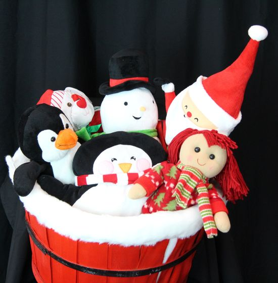 Holiday Stuffed Animals and Characters
