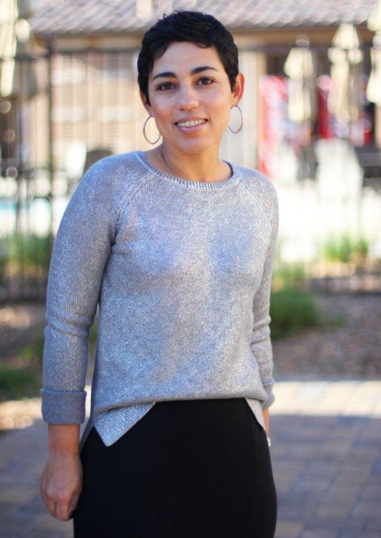 DIY Skirt   Daytime Sparkle Sweater