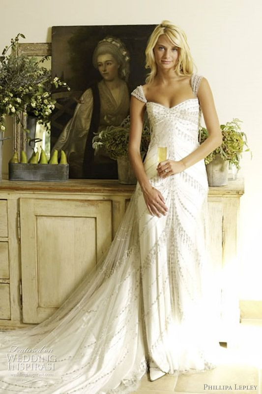 Romantic wedding gowns fit for a princess by Phillipa Lepley 2011 bridal collection