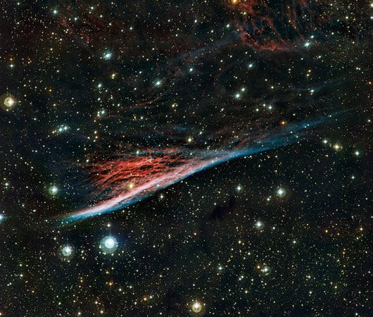 Telescope spots a 'witch's boom' nebula in outer space