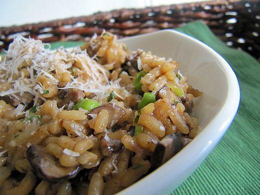 Home Skillet – Cooking Blog: Mushroom Risotto