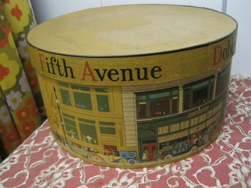 My mother had so many hatboxes...where did they disappear to?