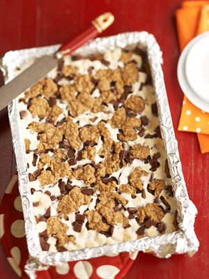 S'mores bars. Must try these.