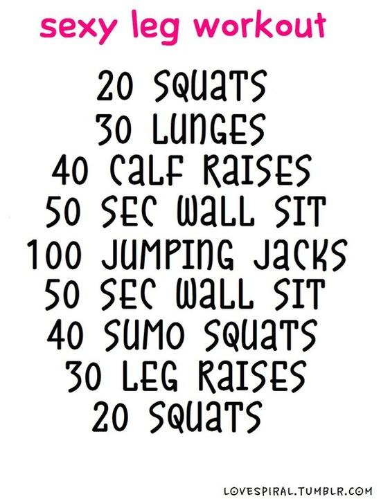 Leg Workout Leg Workout Leg Workout