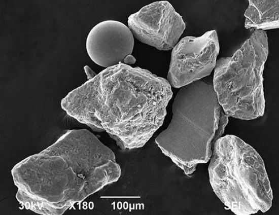 War Sand As much as 4% of sand on Normandy's beach is made up of miniscule fragments of steel, the remnants of shrapnel from WWII's D-Day. It's a story that's part geologic wonder, and part reminder of what will be left of our civilization when we're gone.