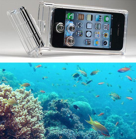 iPhone waterproof camera