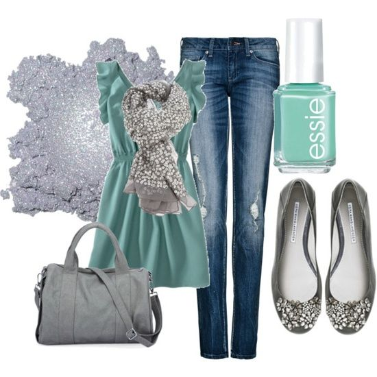 23 Spring Trendy Polyvore Combinations. Some of my favorite color combos.